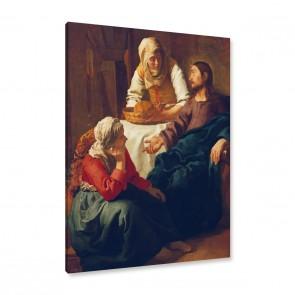 Jan Vermeer Leinwandbild