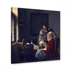 Jan Vermeer - die unterbrochene Musikstunde
