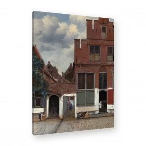 Jan Vermeer - Straße in Delft