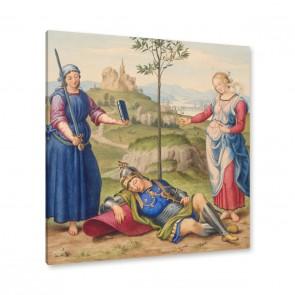 Johann David Passavant - Der Traum des Ritters