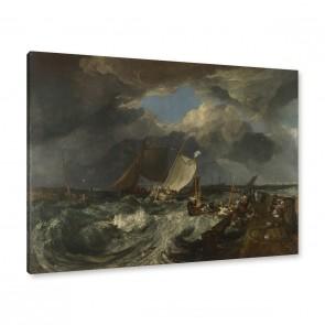 Joseph Mallord William Turner - Die Mole von Calais