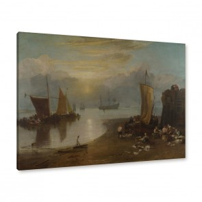 Joseph Mallord William Turner - Sonnenaufgang im Dunst