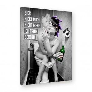 Leinwandbild - Drogen - Alkohol - Feiern - Musik - Bier