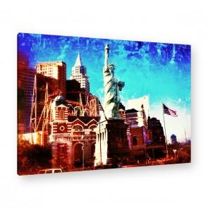 Leinwandbild - Freiheitsstatue - Statue of Liberty - Libertas - Liberty Island