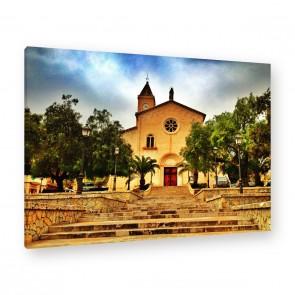 Leinwandbild -  Kirche - Church - Glaube