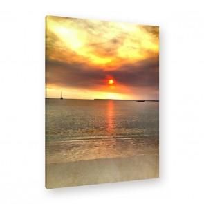 Leinwandbild Hopeful Sunset