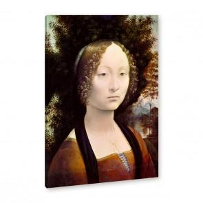 Leonardo da Vinci - Bildnis der Ginevra Benci
