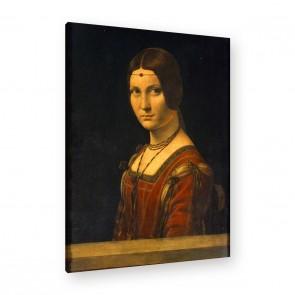Bildnis einer Dame des Mailänder Leinwandbild