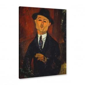 Amedeo Modigliani - Bildnis Paul Guillaume