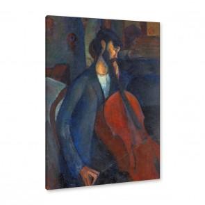 amedeo modigliani mann mit violoncello leinwandbild