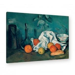Paul Cézanne Früchtestillleben auf Leinwand