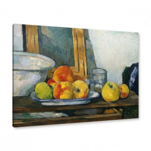 Paul Cézanne - Stillleben mit offener Schublade