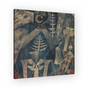 die Glocke von Paul Klee als Leinwandbild