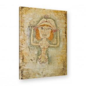 Paul Klee - Die Sängerin L als Fiordiligi