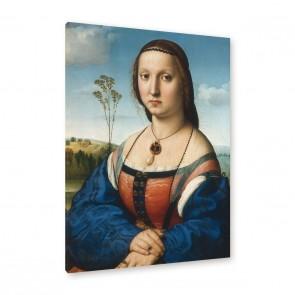 Bildnis der Maddalena Doni - Leinwand