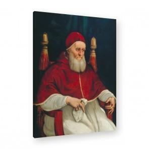 Bildnis von Papst Julius der zweite als Leinwandbild