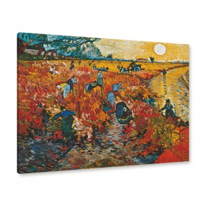 Van Gogh - der rote Weingarten in Arles