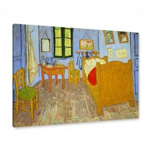 Schlafzimmer in Arles Leinwandbild