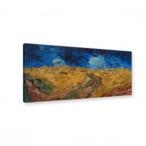 Van Gogh - Weizenfeld mit Raben