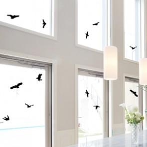 Vogelschutzaufkleber großes Set