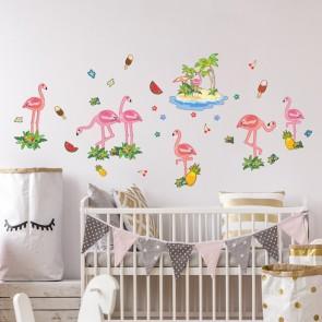 Wandsticker Set XL - Flamingo