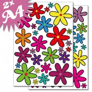 Wandsticker Blumen