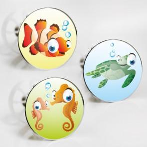 Stöpselaufkleber Unterwasser-Tiere