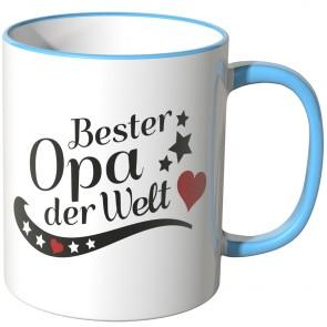 JUNIWORDS Tasse Bester Opa der Welt