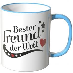 JUNIWORDS Tasse Bester Freund der Welt