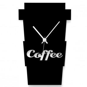 Kaffeebecher als Uhr