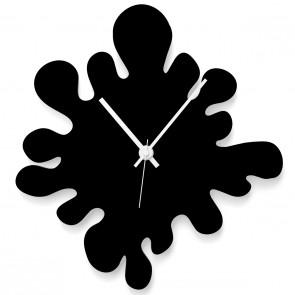 Farbklecks Uhr