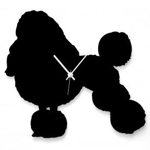 Pudel als Uhr