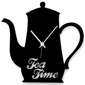 Teekanne als Uhr