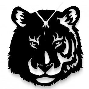 Tiger als Wanduhr