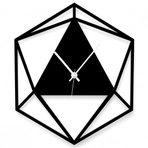 Wanduhr - Triangle