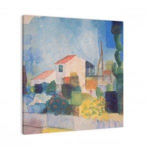 August Macke das helle Haus