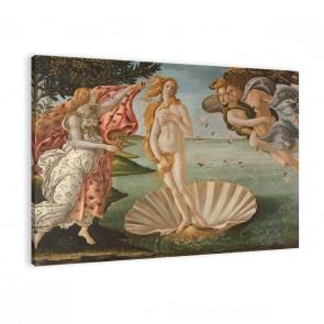 Geburt der Venus von Botticelli als Leinwandbild