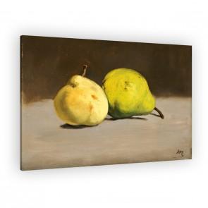 zwei Birnen von Èdouard Manet als Leinwandbild