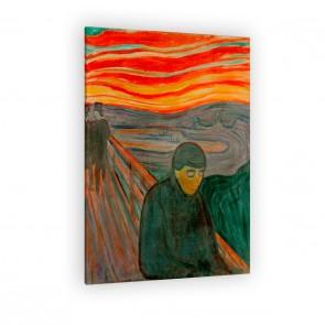 Edvard Munch als Leinwandbild zum aufhängen
