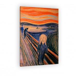 der Schrei von Edvard Munch als Leinwandbild