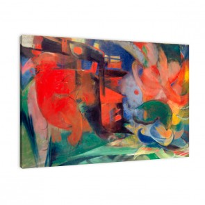 Leinwandbild abstrakte Formen zum aufhängen