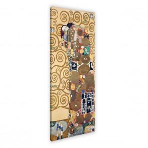 die Erfüllung von Gustav Klimt als Leinwandbild