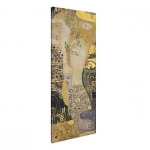 Wasserschlangen von Gustav Klimt als Leinwandbild