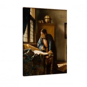 Künstler Jan Vermeer - das Mädchen mit dem Perlenohrgehänge