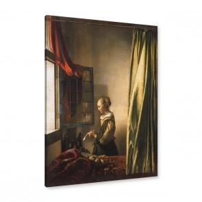 Jan Vermeer Die briefleserin am offenen Fenster