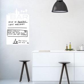 Whiteboard - Hausbar Tafel