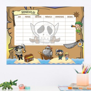 Piraten Stundenplan
