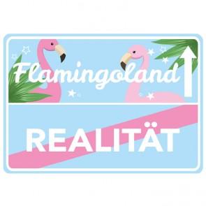 Wandsticker Flamingoland