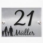 Hausnummernschild