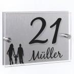 Hausnummer Schild